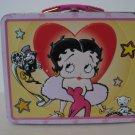 Betty Boop Pink Heart Movie Star Tin Lunchbox