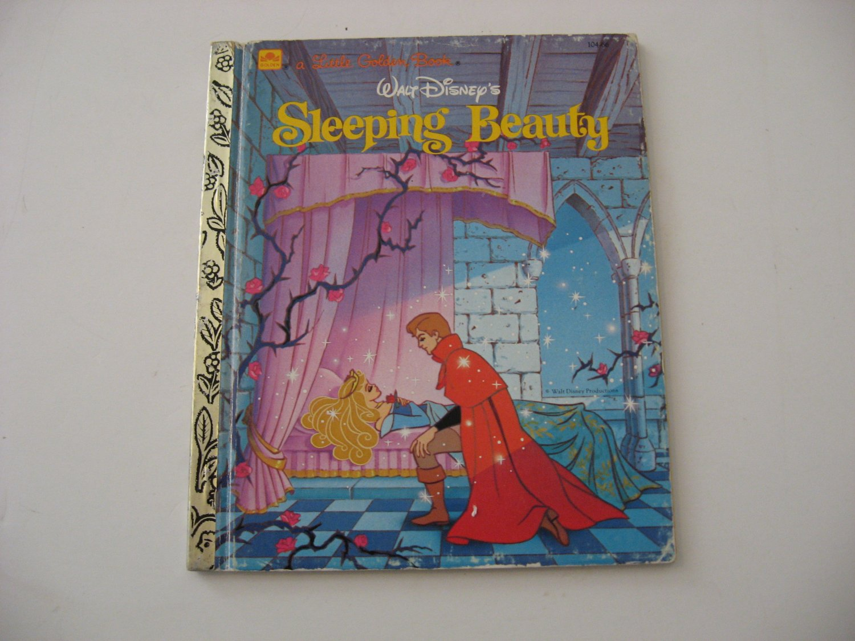 1986 Walt Disney's Sleeping Beauty -  Illustrated Little Golden Book