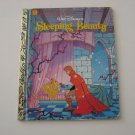 1986 Walt Disney's Sleeping Beauty -  Illustrated Little Golden Book
