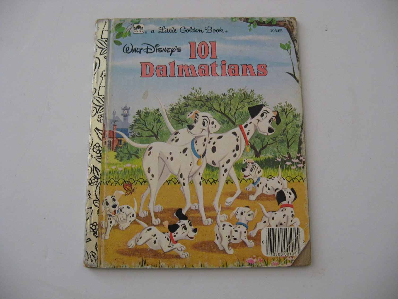 1985 Walt Disney's 101 Dalmatians -  Illustrated Little Golden Book