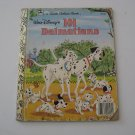 1985 Walt Disney's 101 Dalmatians -  Illustrated Little Golden Book