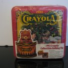 1992 - Crayola Collectible Holiday Tin - New!