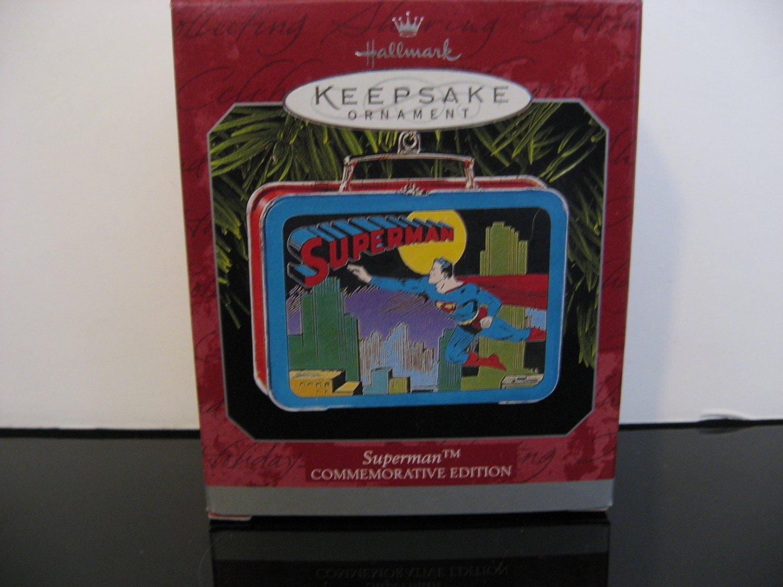 Vintage 1998 Superman Keepsake Ornament