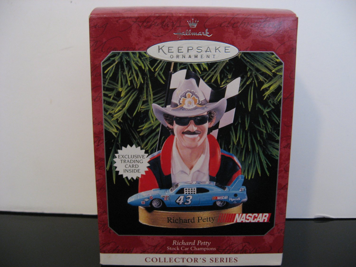 Vintage #43 Richard Petty Keepsake Ornament