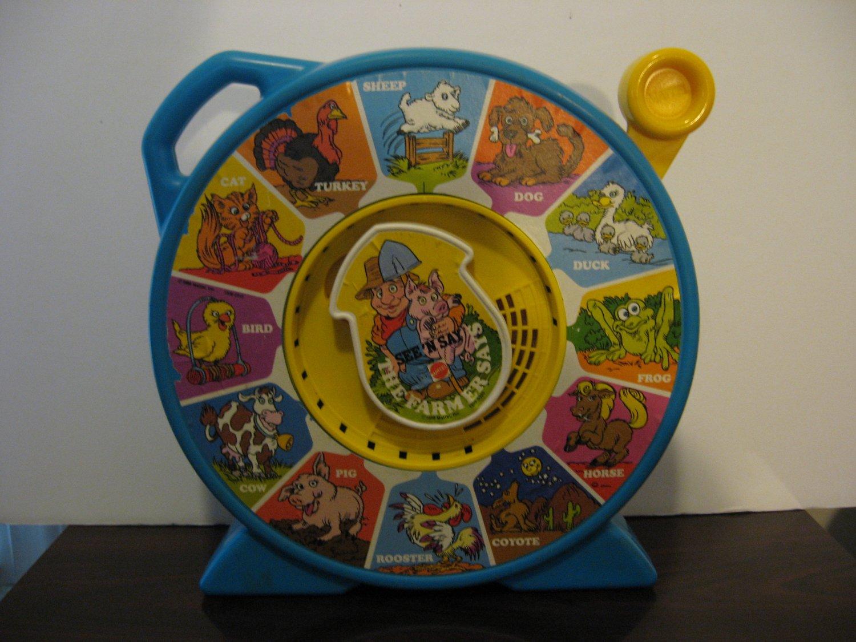 Vintage 1989 Mattel - The Farmer Says - See N' Say