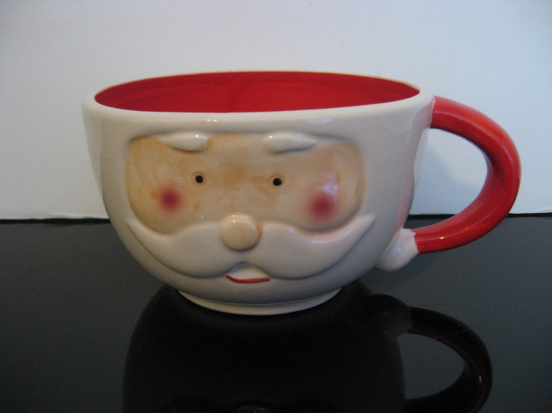 Large Santa Claus Face Mug/Bowl