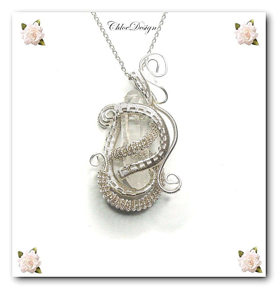 diy pdf tutorial Wire Wrapping Jewelry Pendant Treasure,casual,handmade,quartz