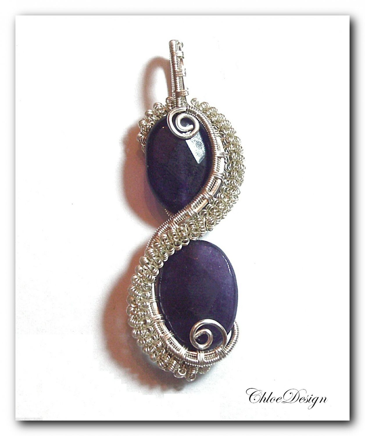 diy pdf tutorial Wire Wrapping Jewelry Amethyst Column Pendant,casual,wire,gizmo