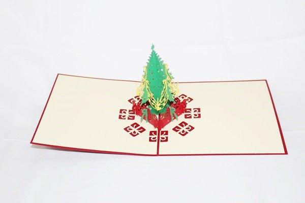 3D Pop Up Handmade Christmas Tree Card US Seller Love Pop Card