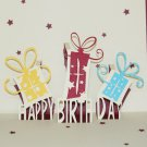 3D PopUp Handmade Happy Birthday Gift Boxes Card US Seller Love Pop Card