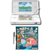 Nintendo DS Lite (Polar White) Bundle with 1 Hot Games
