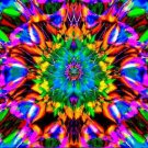 psychedelic flower of life