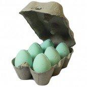 6 Mango Scented Green Bath Eggs Bath Bombs