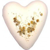 Chamomile & Honey Megafizz Bath Heart Bath Bomb
