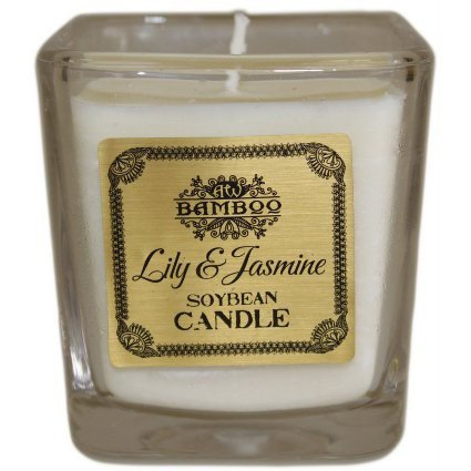 Lily & Jasmine Soybean Candle