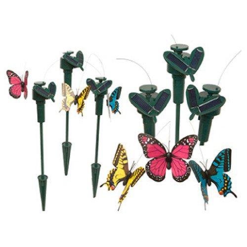 Solar Garden Butterflies (colours may vary)