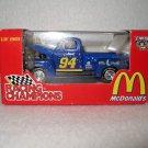 NASCAR Bill Elliott#94 Blue Truck McDonalds 50th Anniversary