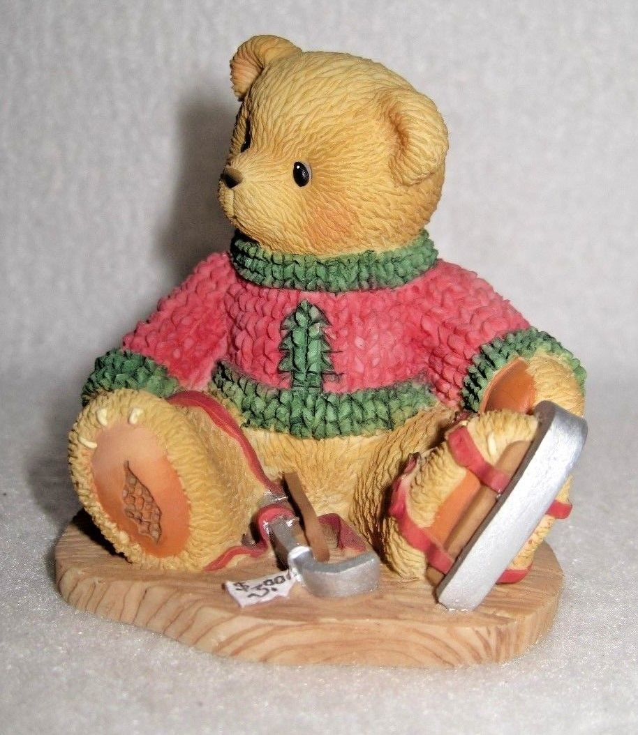 """Cherished Teddies - Jerome """"Can't Bear The Cold Without You"""" Figurine"""
