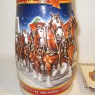Budweiser Holiday Stein A Century of Tradition - 1900-1999