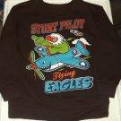 """Boys Pullover """"Stunt Pilot Flying Eagles"""" Sweatshirt """"Garanimals"""" 4T"""