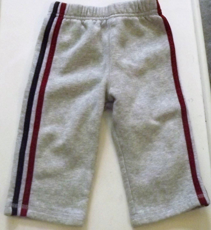"""Boys Infant Bottom Sweats 12Months """"okie-dokie"""""""