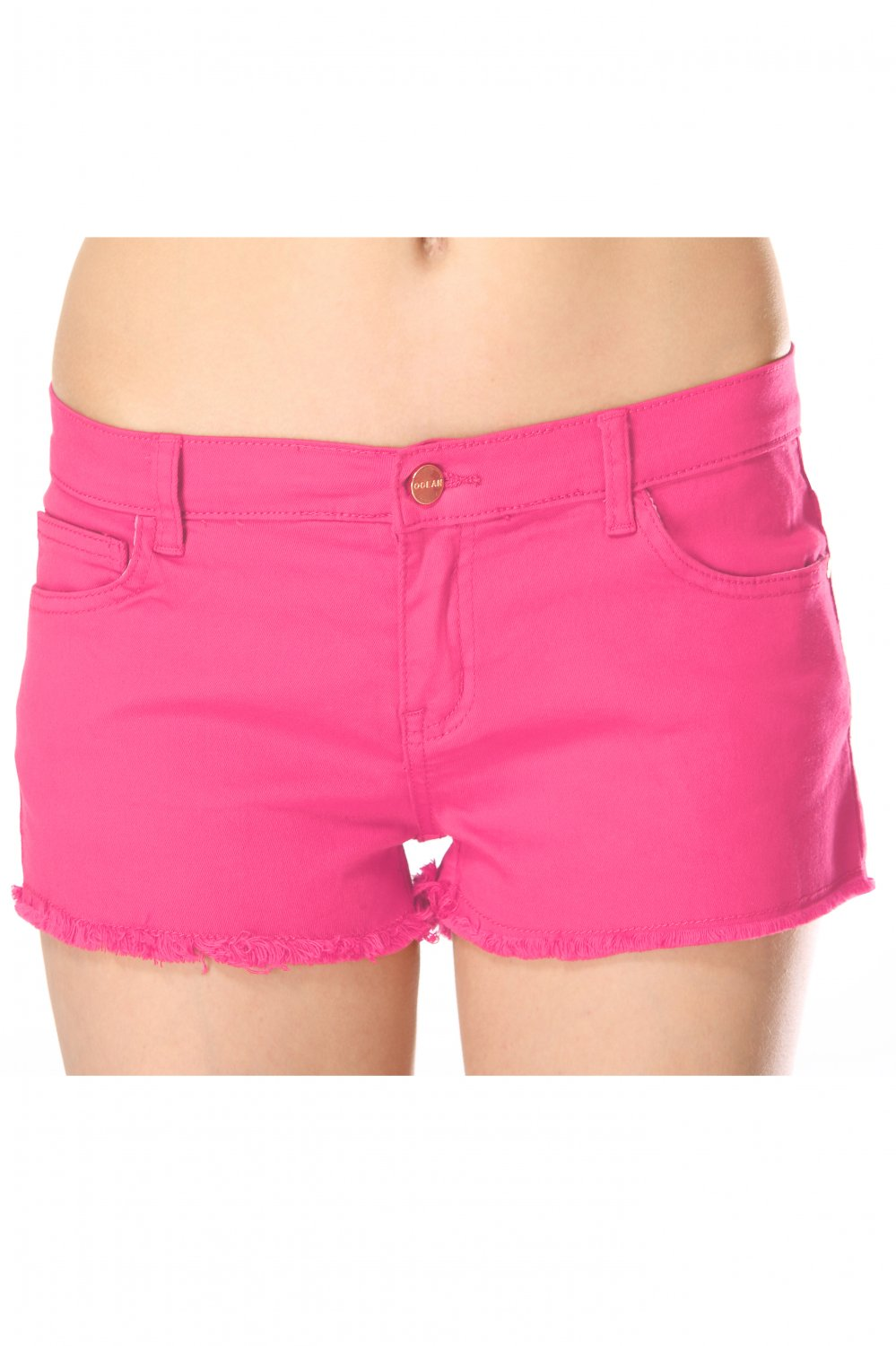Summer cotton pink shorts