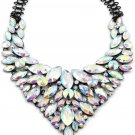 Fashion colorful multicolor crystal necklace