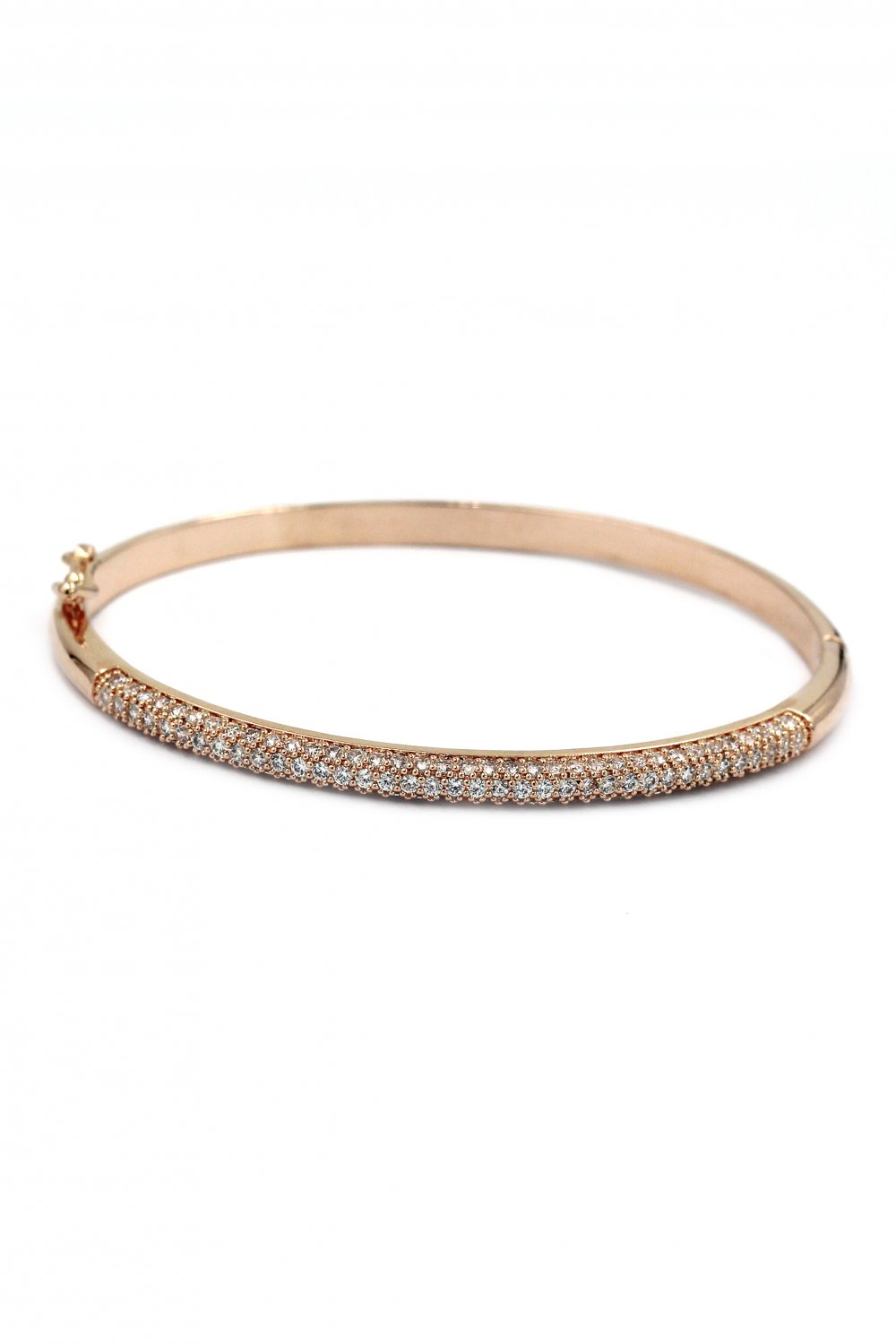 Fashion micro-small crystal rose gold bracelet