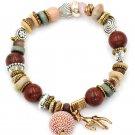 Colorful bead small deer bracelet