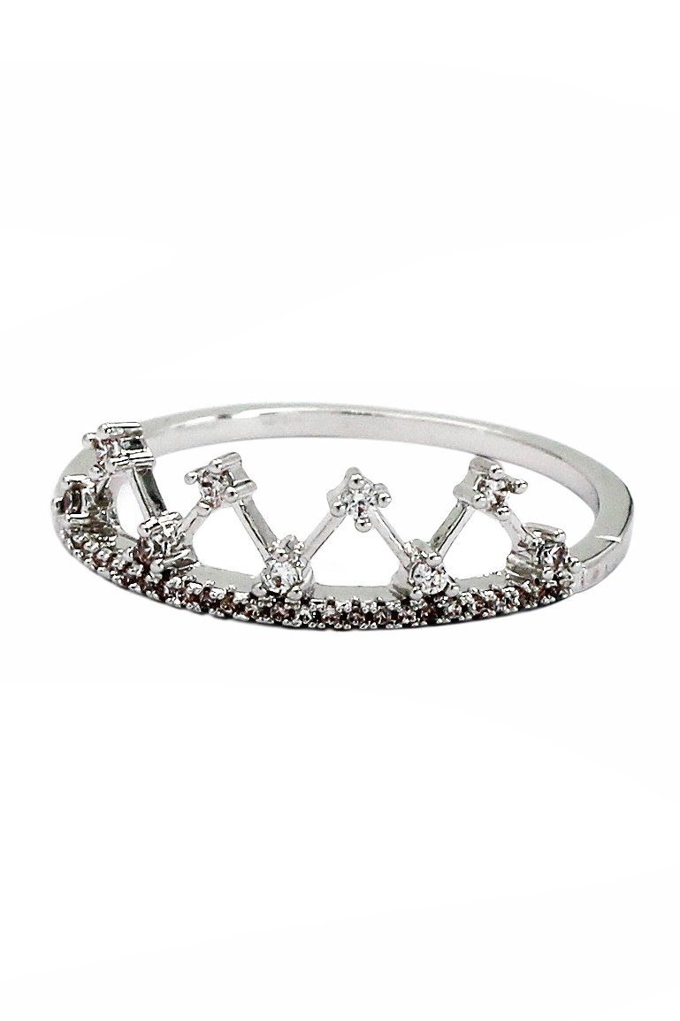 Fashion sparkling crystal rings