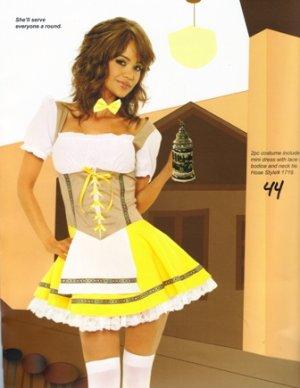 Bavarian Maiden Beer Girl Womens Halloween Costume