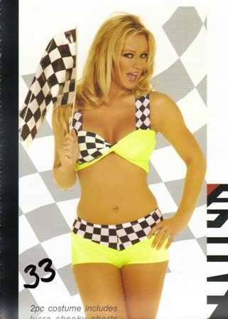NASCAR Race Car Womens Halloween Costume