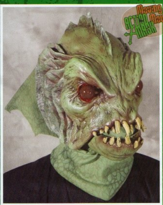 Deep Sea Creature Movin Mouth Halloween Mask