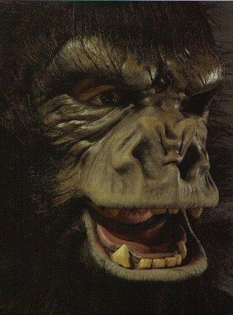 Two Bit Roar Gorilla Halloween Mask