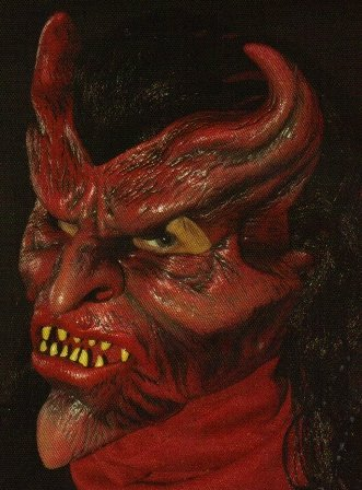 Devil May Care Action Halloween Mask
