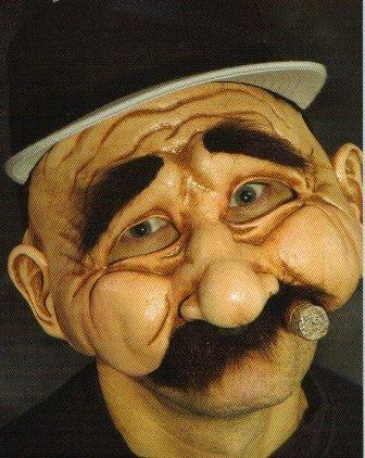 Stan The Man Halloween Mask