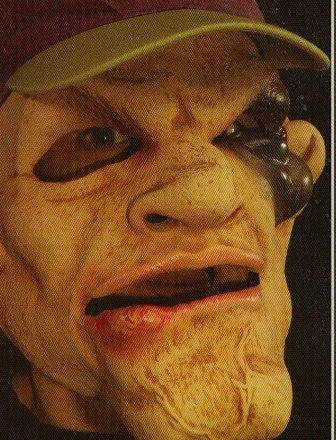 Rocco Halloween Mask
