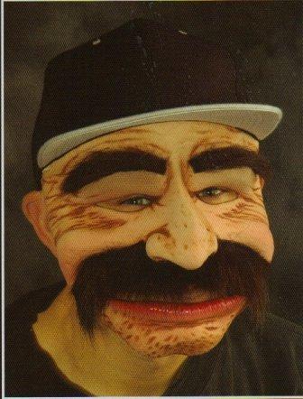 Robert No Dinero Halloween Mask