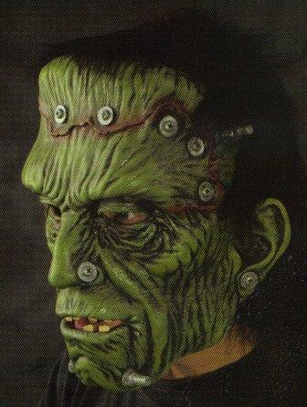 Glued & Screwed Halloween Mask