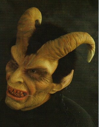 Elegant Devil Halloween Mask