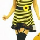 Honey Bee Womens Vinyl Halloween Costume