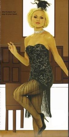 Foxy Flapper Womens Halloween Costume