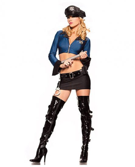 Officer of the law cop costume