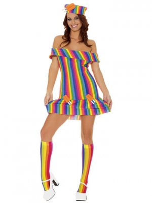 Twinpops Popsicle Adult Fantasy Halloween Costume