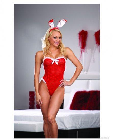 Fantasy Bunny Holiday Lingerie Sexy Sleepwear