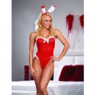 Fantasy Bunny Holiday Lingerie Sexy Sleepwear