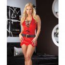 Santa's Naughty Helper Velvet Fetish Babydoll Christmas Lingerie