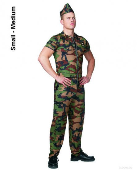 G.I. Guy Mens Adult Halloween Costume