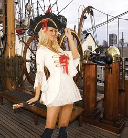 Sexy Pirate Womens Adult Halloween Costume