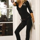 Sexy FBI Agent Womens Adult Halloween Costume